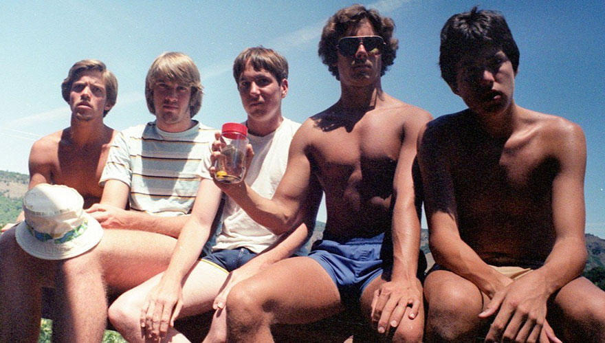 1982 vriendengroep MAN MAN