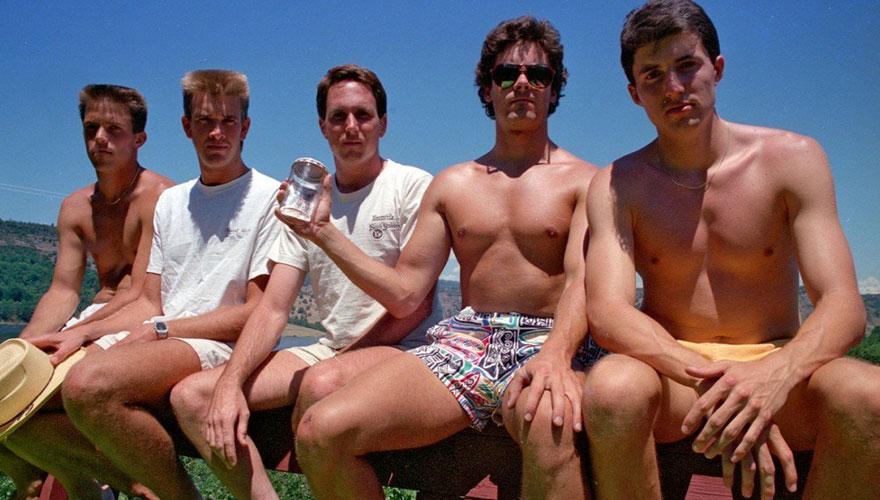 1987 vriendengroep MAN MAN