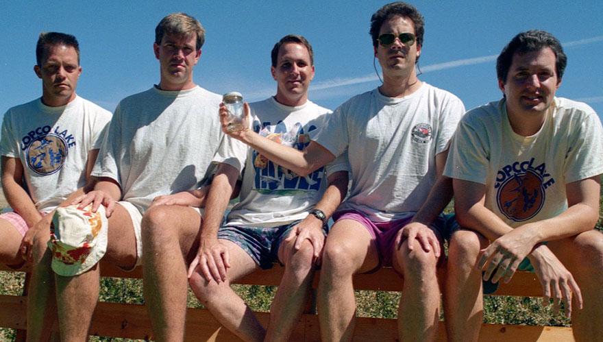 1997 vriendengroep MAN MAN