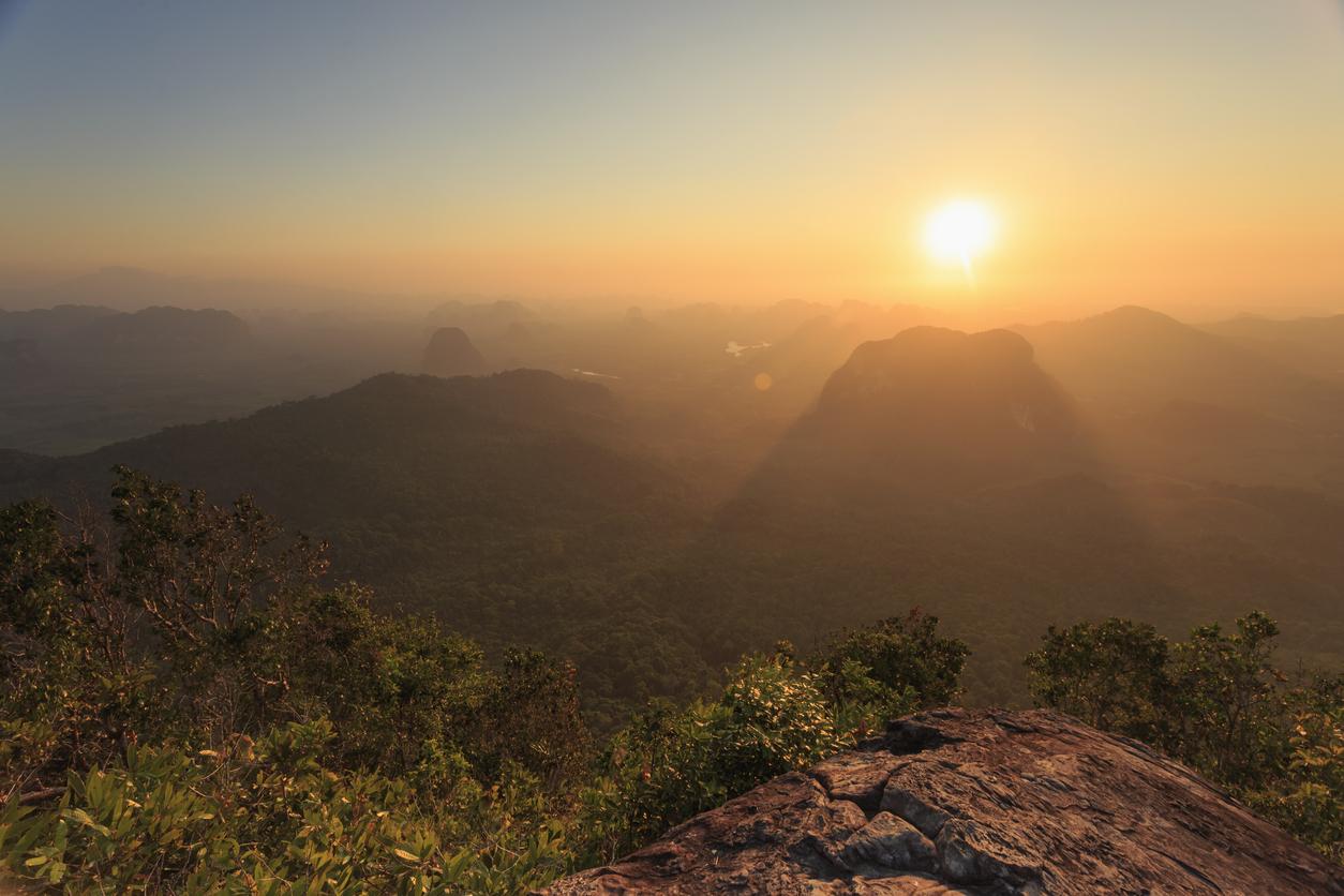 Viewpoint at Hang Nak Mountain