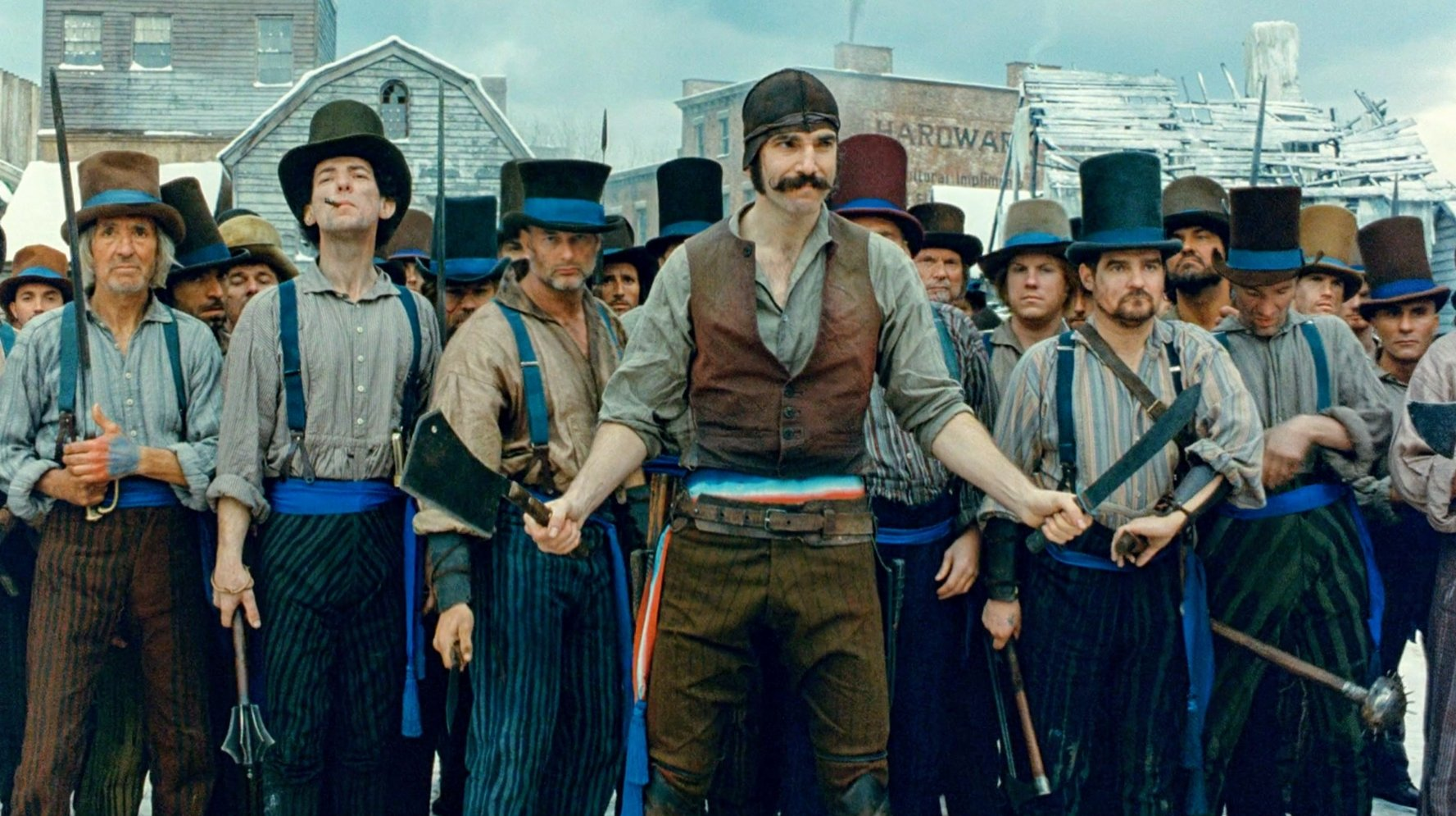 Gangs of New York Scorsese MAN MAN