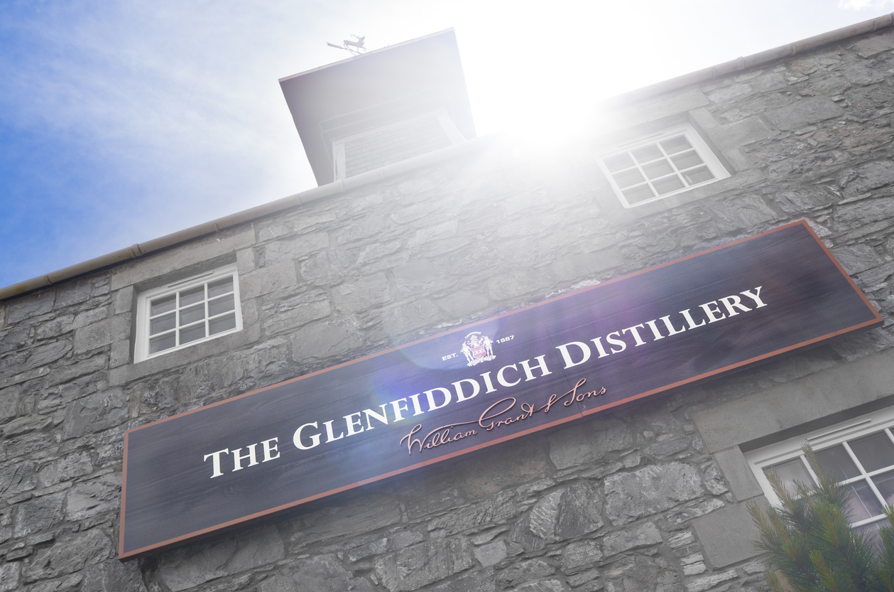 Glenfiddich distillery, Scotland