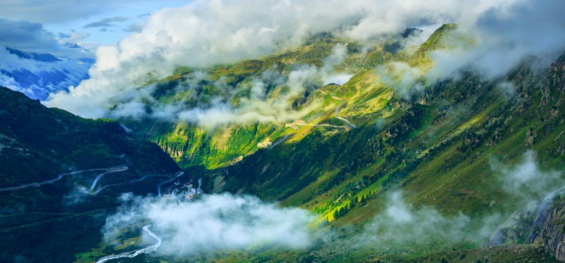Furka Loop - roadtrip - zwitserland