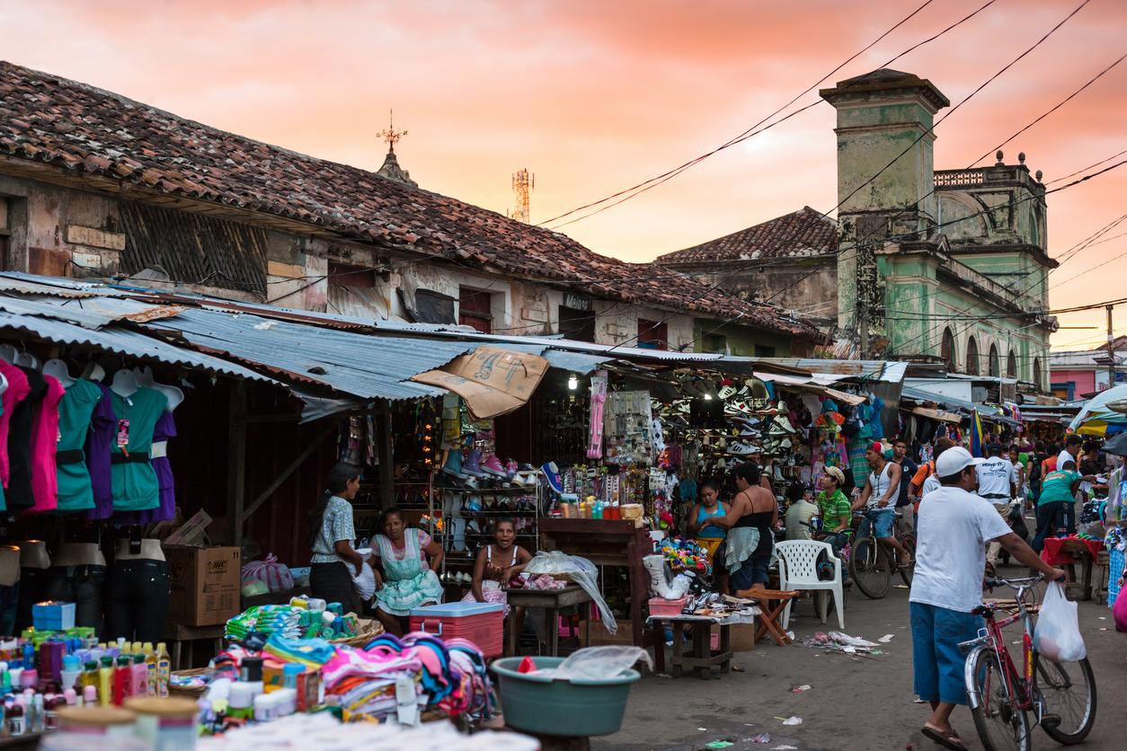 Nicaragua-Centraal-Amerika-Man-Man