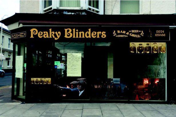 peaky blinders bar MAN-MAN