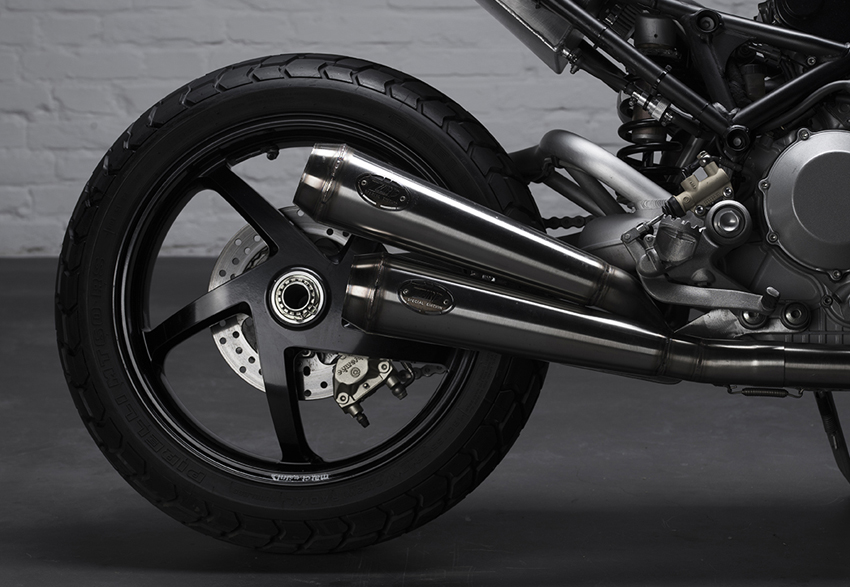 Ducati S4R Tracker Anvil Motociclette The Warthog MAN-MAN 10