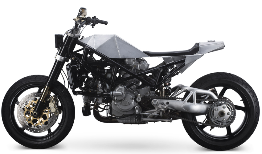Ducati S4R Tracker Anvil Motociclette The Warthog MAN-MAN 2