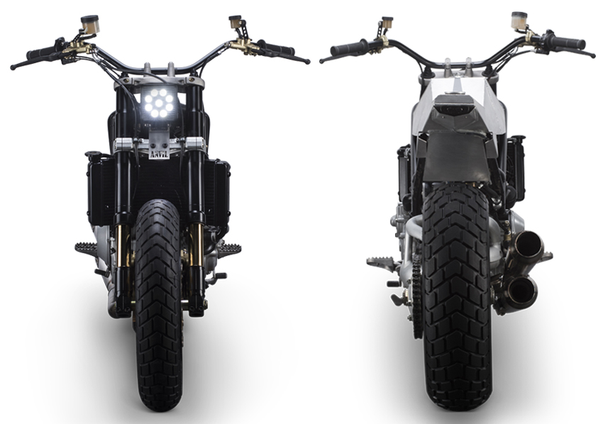 Ducati S4R Tracker Anvil Motociclette The Warthog MAN-MAN 3