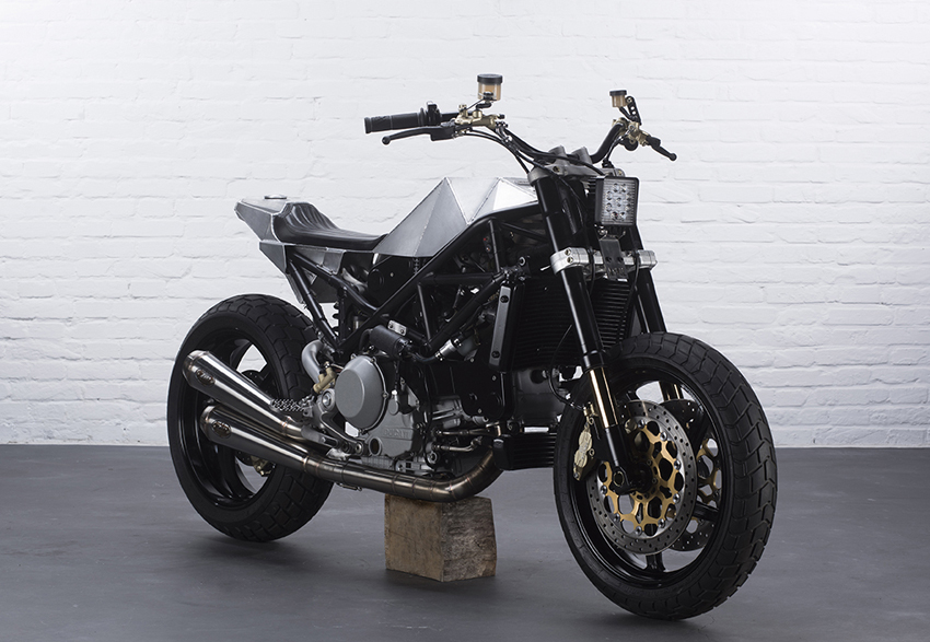Ducati S4R Tracker Anvil Motociclette The Warthog MAN-MAN 5