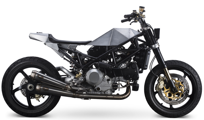 Ducati S4R Tracker Anvil Motociclette The Warthog MAN-MAN