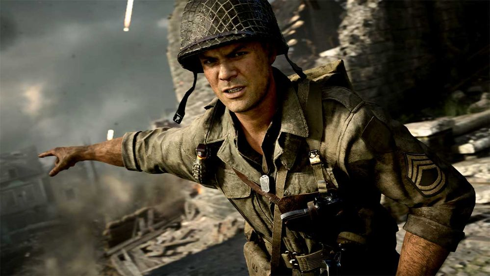 Call of Duty WW2 game Activision MAN-MAN