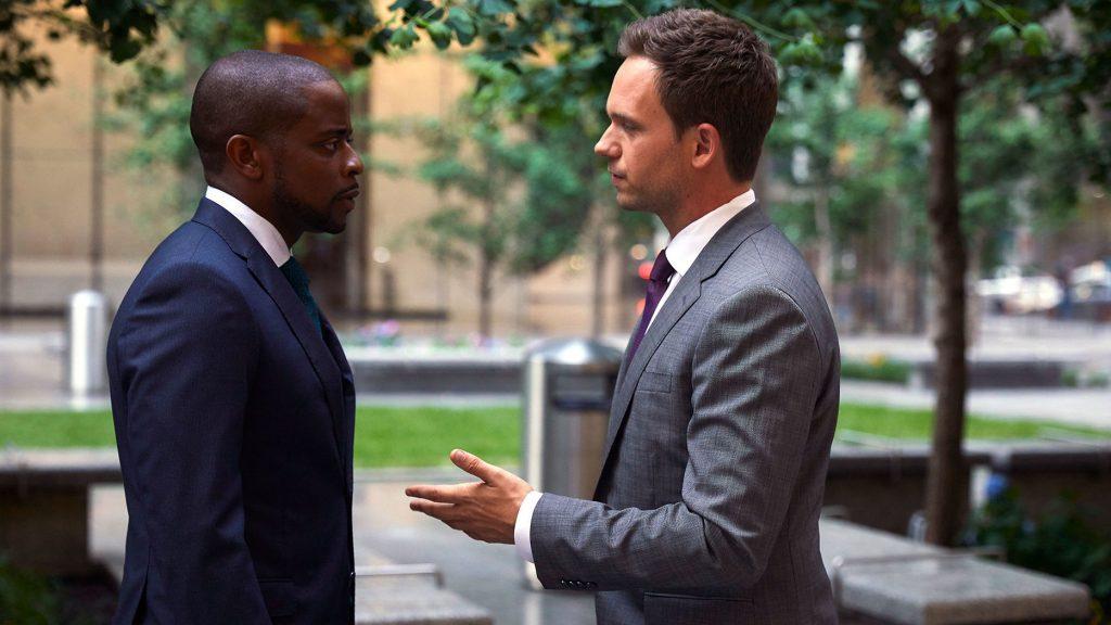 Patrick J. Adams stopt met suits MAN-MAN