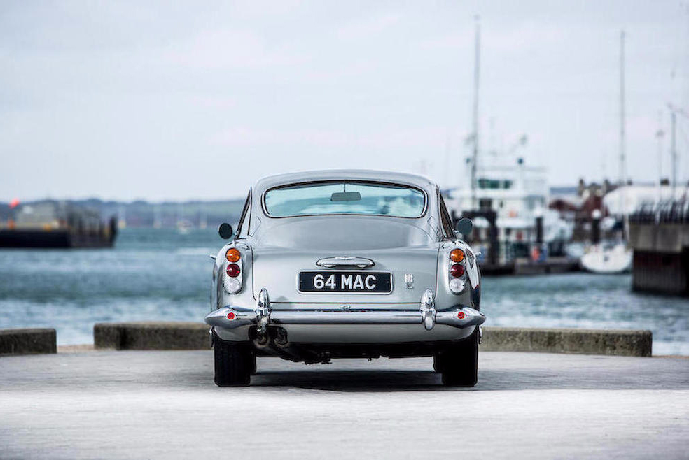 Paul McCartney Aston Martin DB5 MAN-MAN