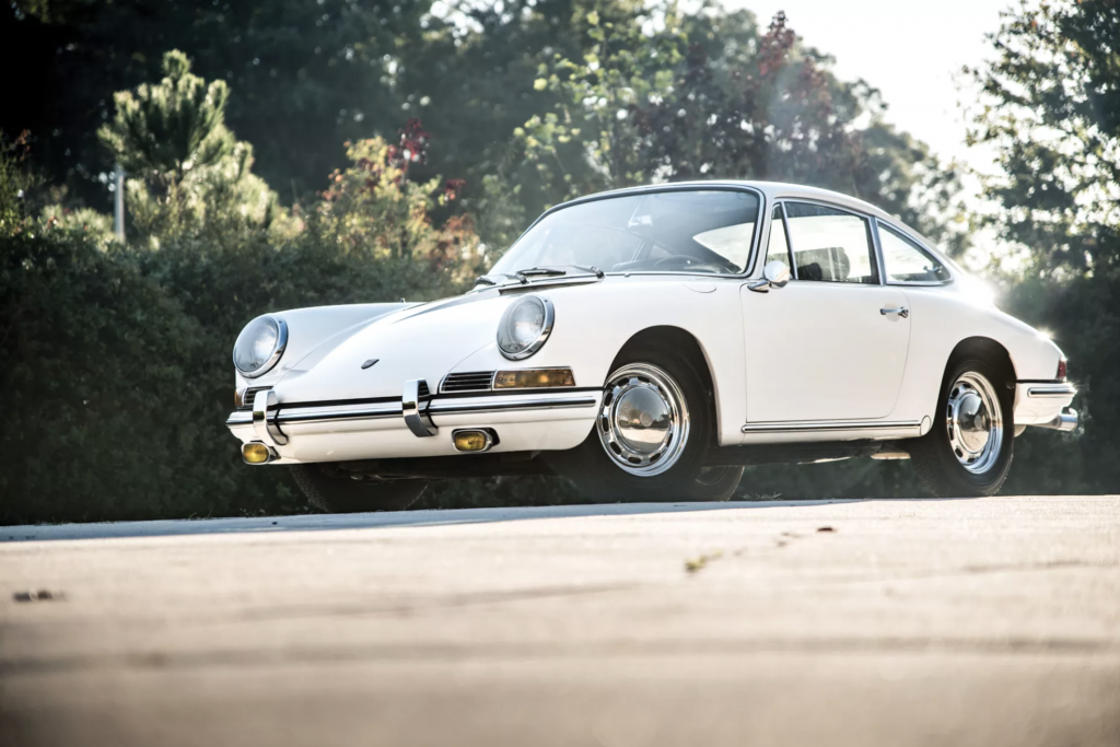 Porsche 911 uit 1966 in veiling bij RM Sotheby's MAN-MAN