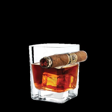 corkcicle whiskyglas met sigaarhouder MAN-MAN
