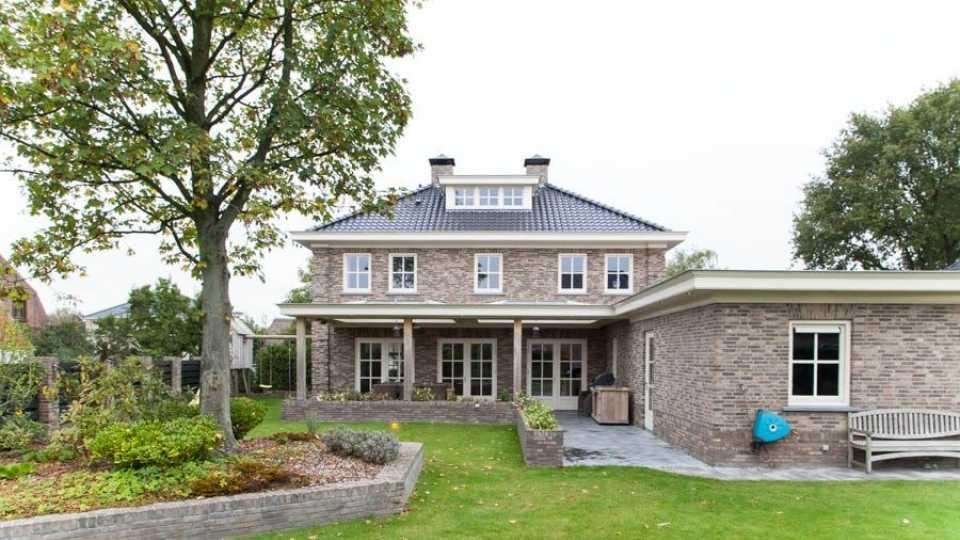 nieuwe villa Rico Verhoeven in Halsteren MAN-MAN