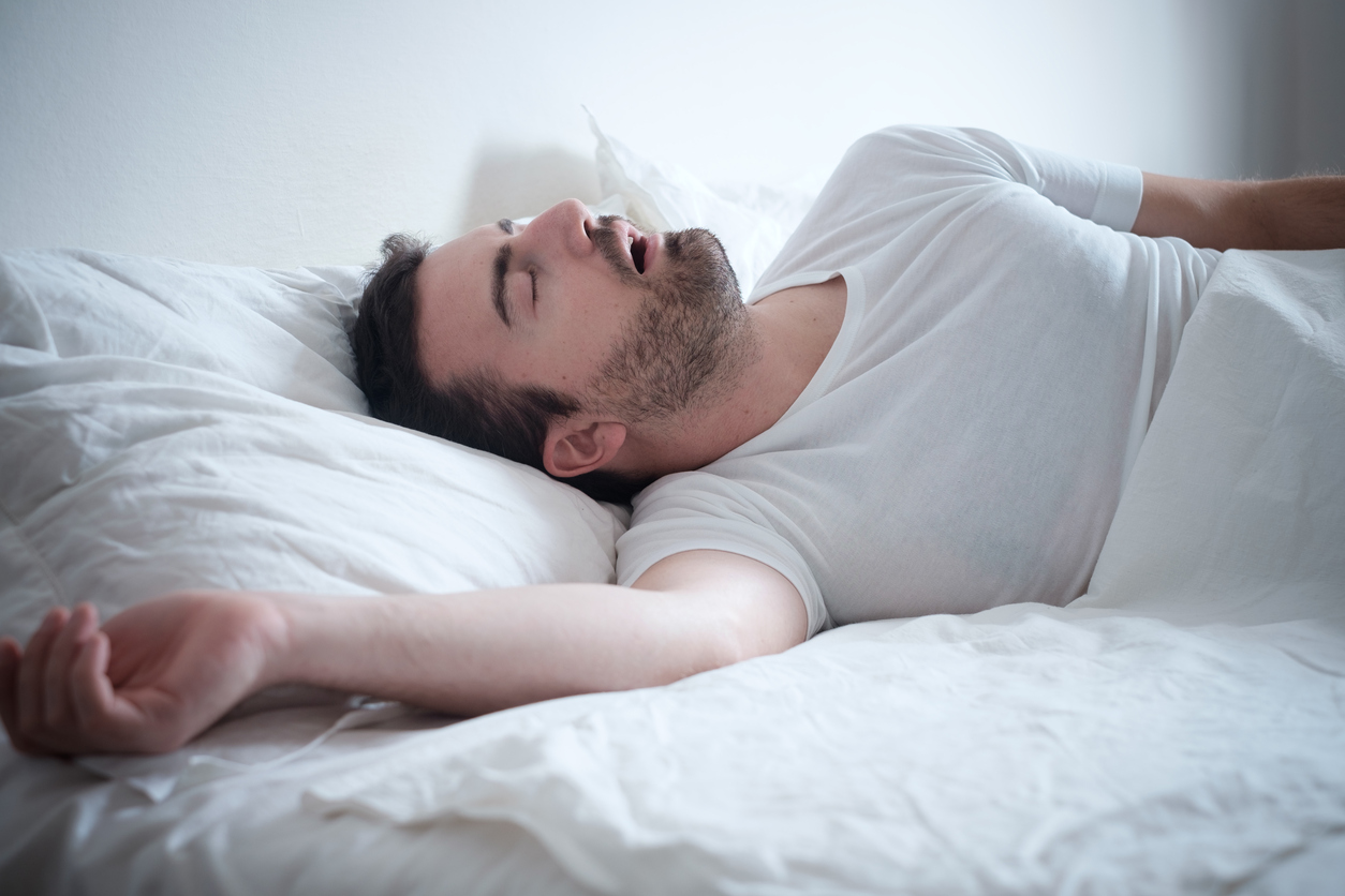 naakt slapen gezond man man