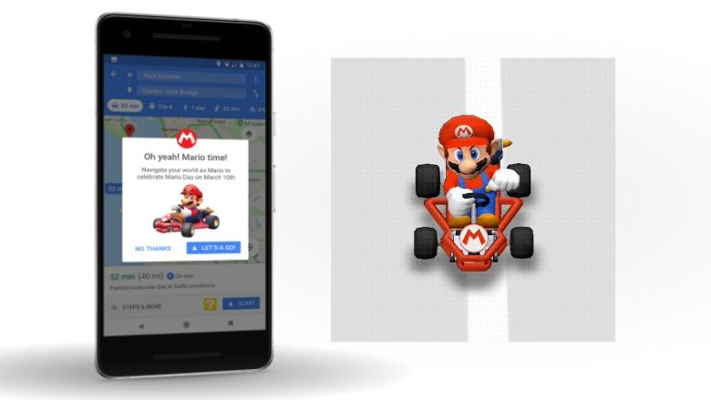 Mario navigatie