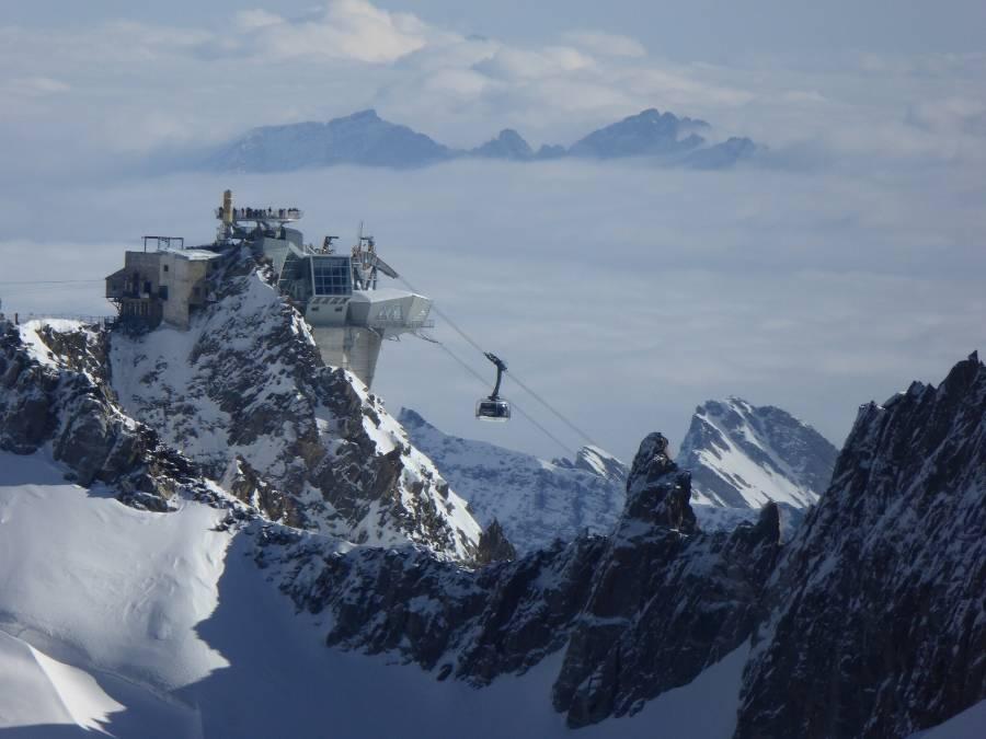 Sky Way mont Blanc Italie