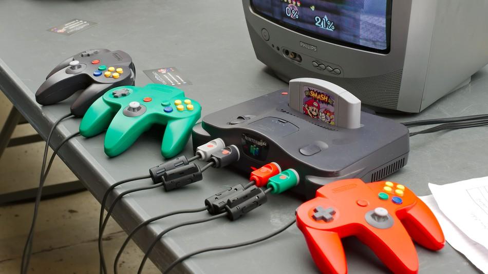 Nintendo 64 man man 01