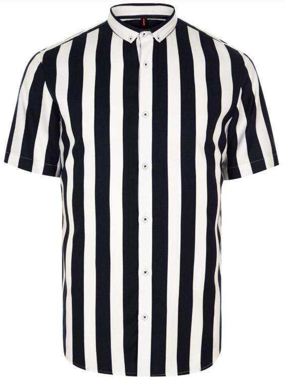 Overhemd Zwart Korte Mouw.Het Short Sleeve Overhemd Maakt Deze Zomer Zijn Welverdiende