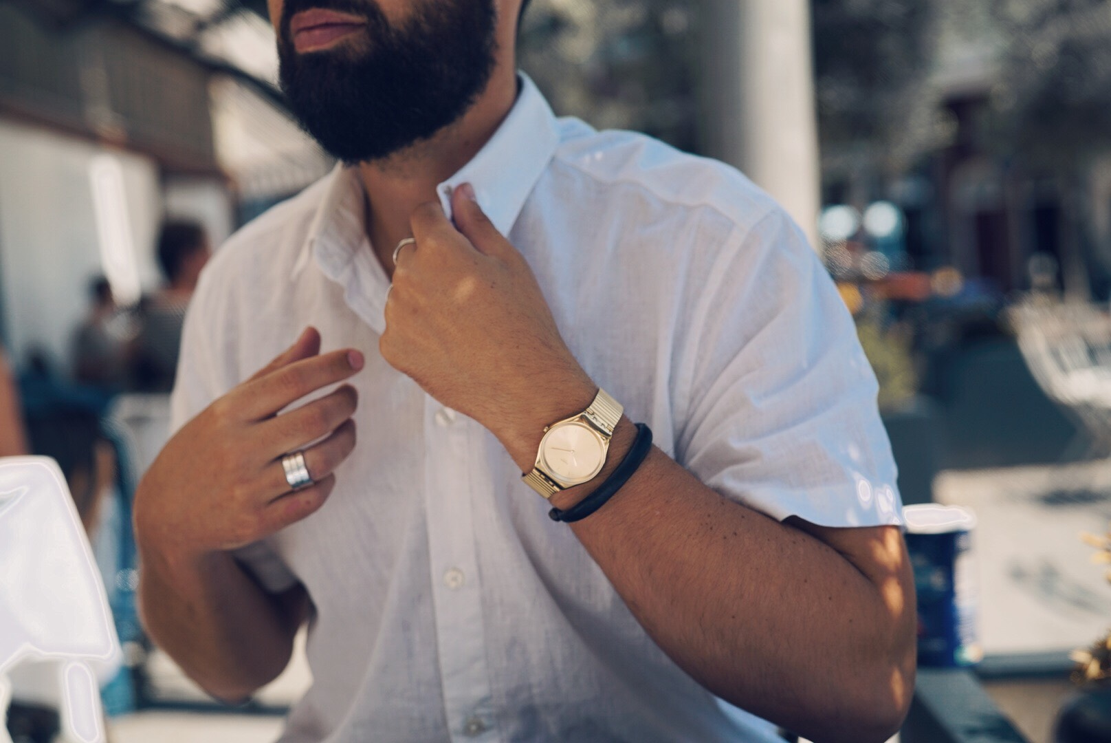 swatch skin irony-collectie horloges sieraden MAN MAN