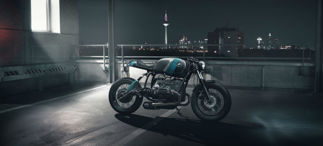 Motor BMW R80 custom MAN MAN 1