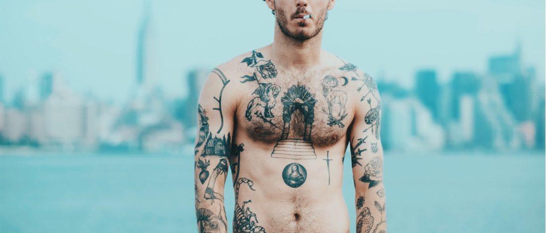 tattoo pijnlijke plekken MAN MAN