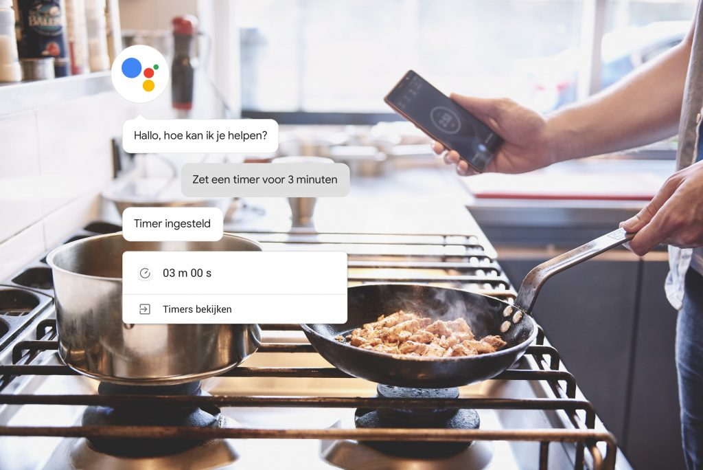 Google Assistant informatie software MAN MAN