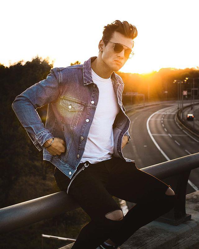 spijkerjas mannen jacket zomer 2019