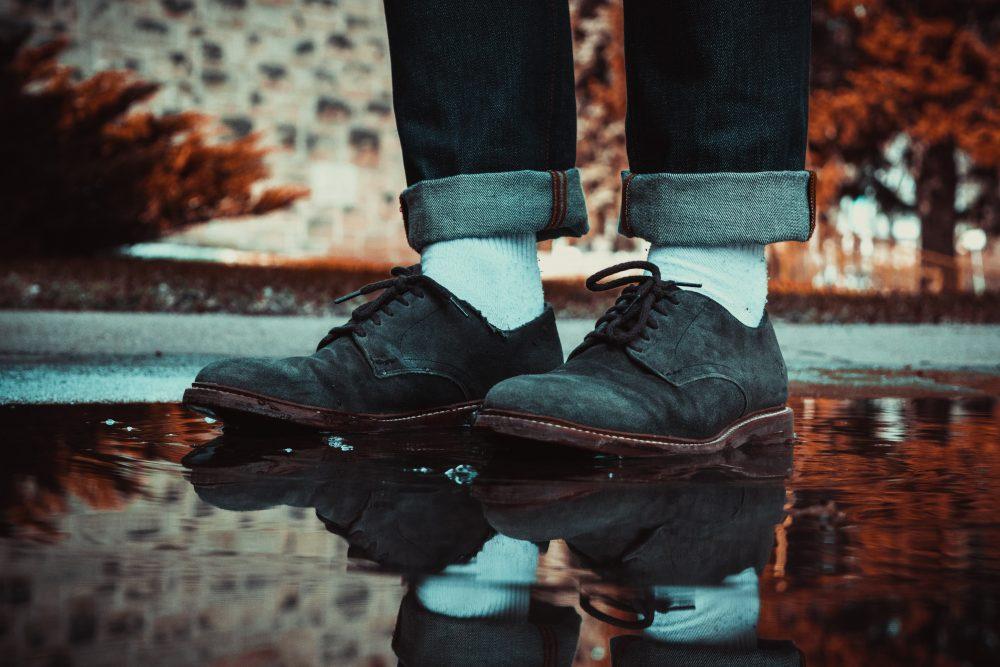 suède schoenen schoonmaken poetsen MAN MAN