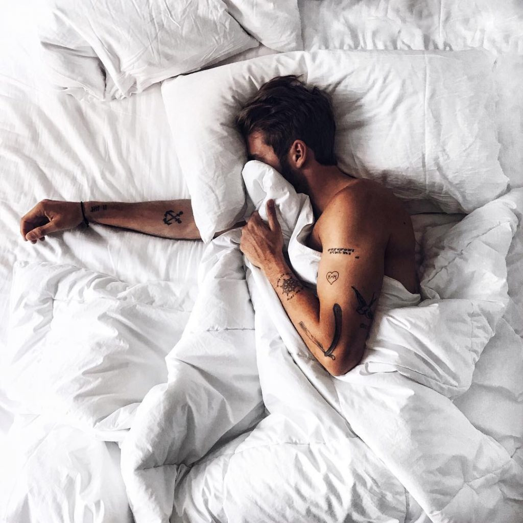 slapen nachtrust slaap rust MAN MAN