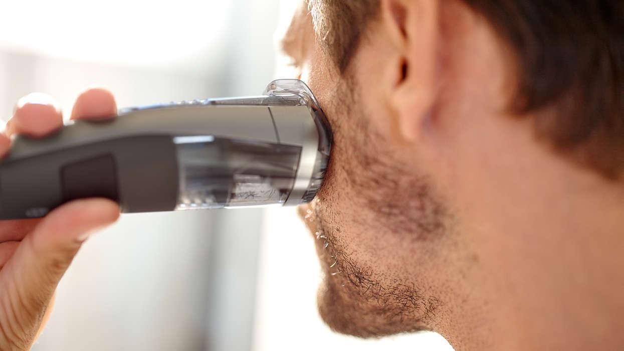 baard trimmen trimmer scheerapparaat philips MAN MAN