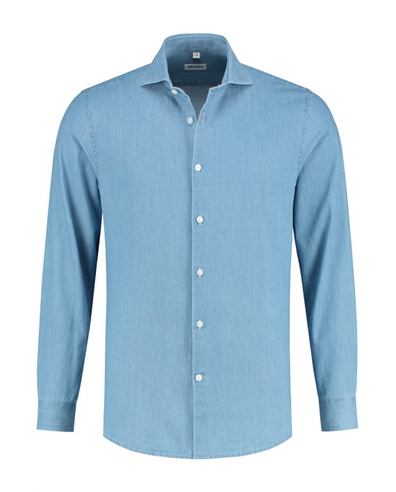denim overhemd shirt heren MAN MAN