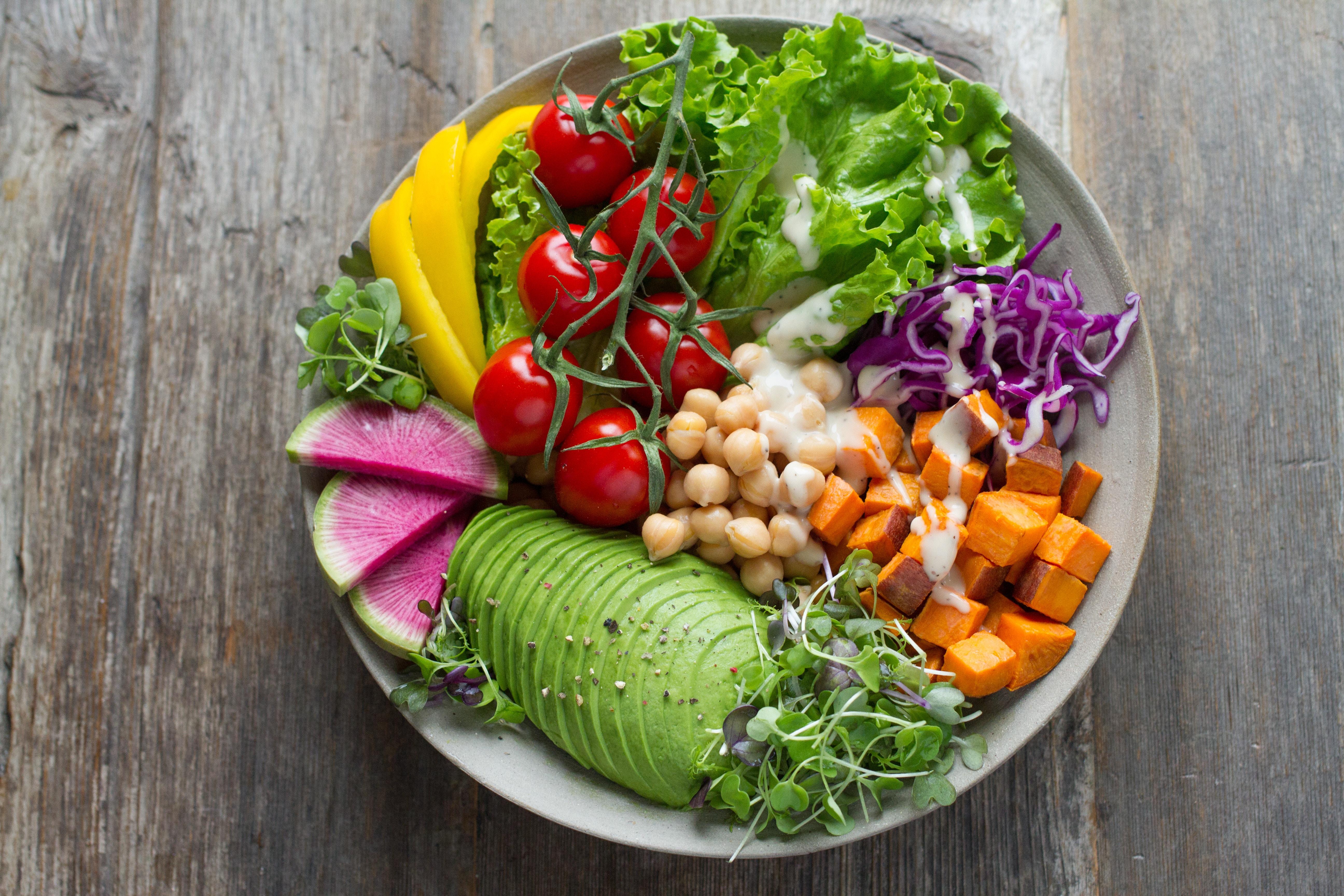 groenten eten MAN MAN
