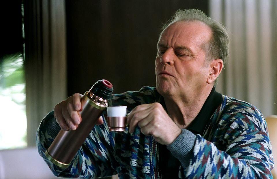 psychopaten drinken zwarte koffie MAN MAN