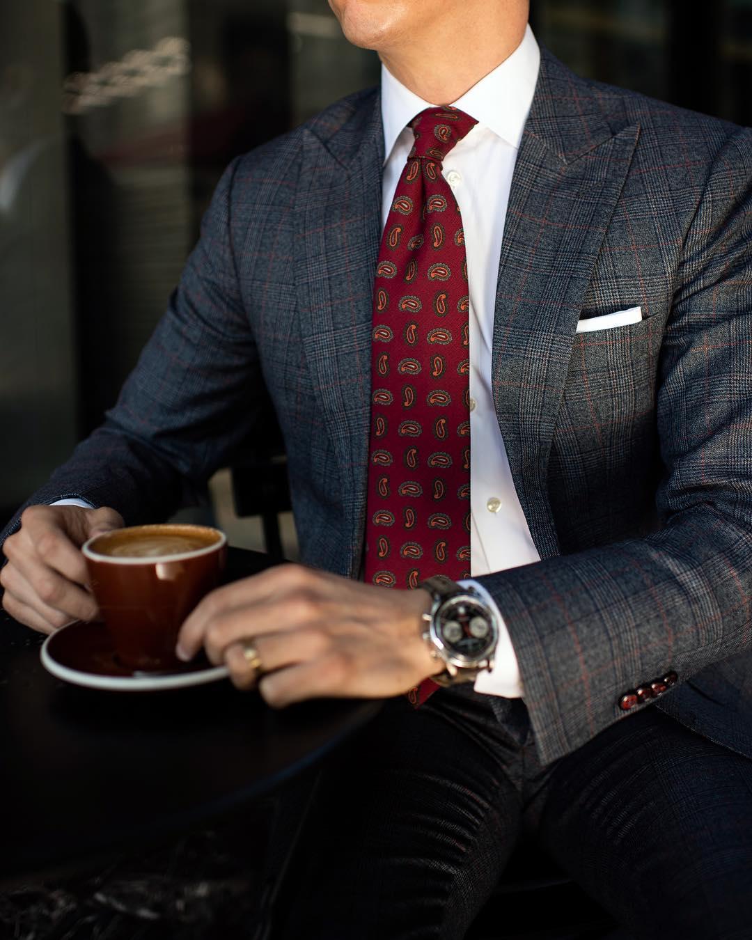 combineren kleur dassen overhemden MAN MAN