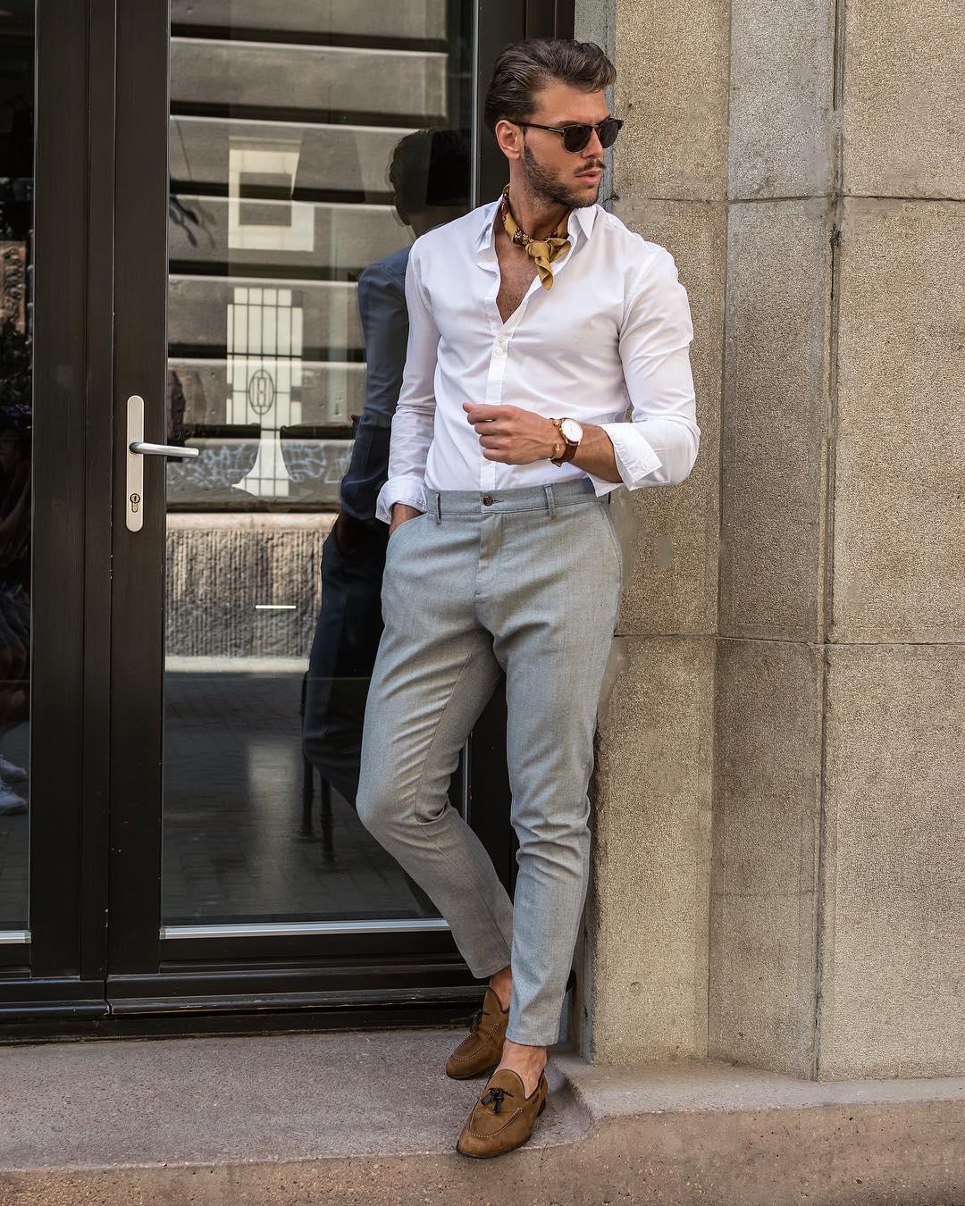 stijlvolle mannen broeken MAN MAN