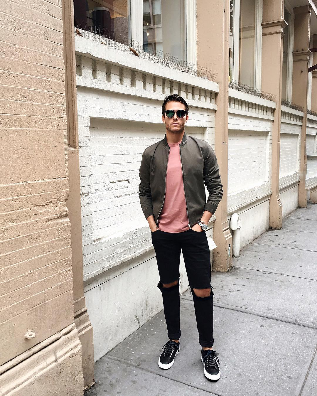 roze kleding stijltips MAN MAN