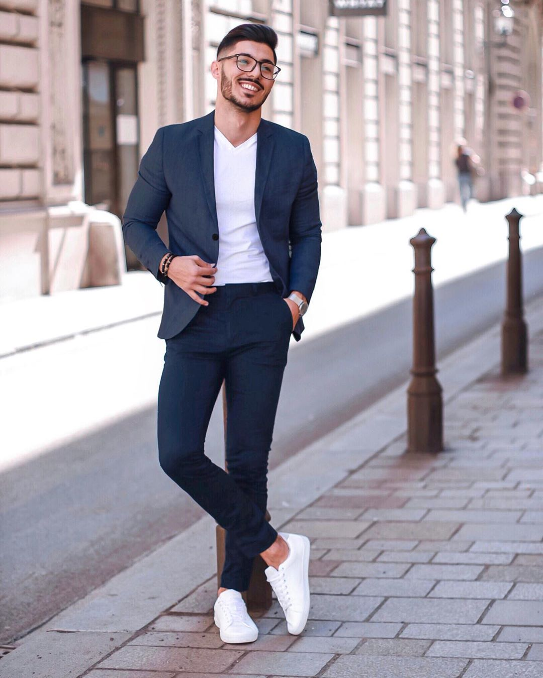 smaller lijken brede mannen kleding