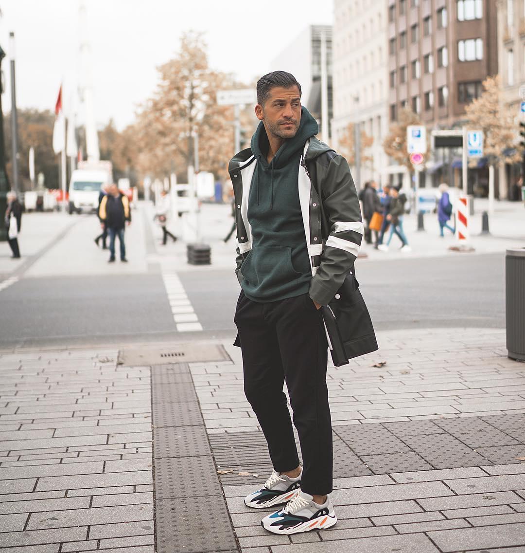 Lage herenschoenen Chunky sneakers mannen MAN MAN