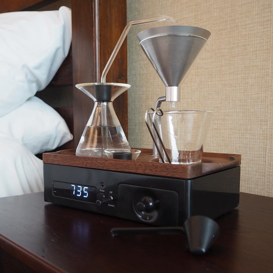 koffie wekker