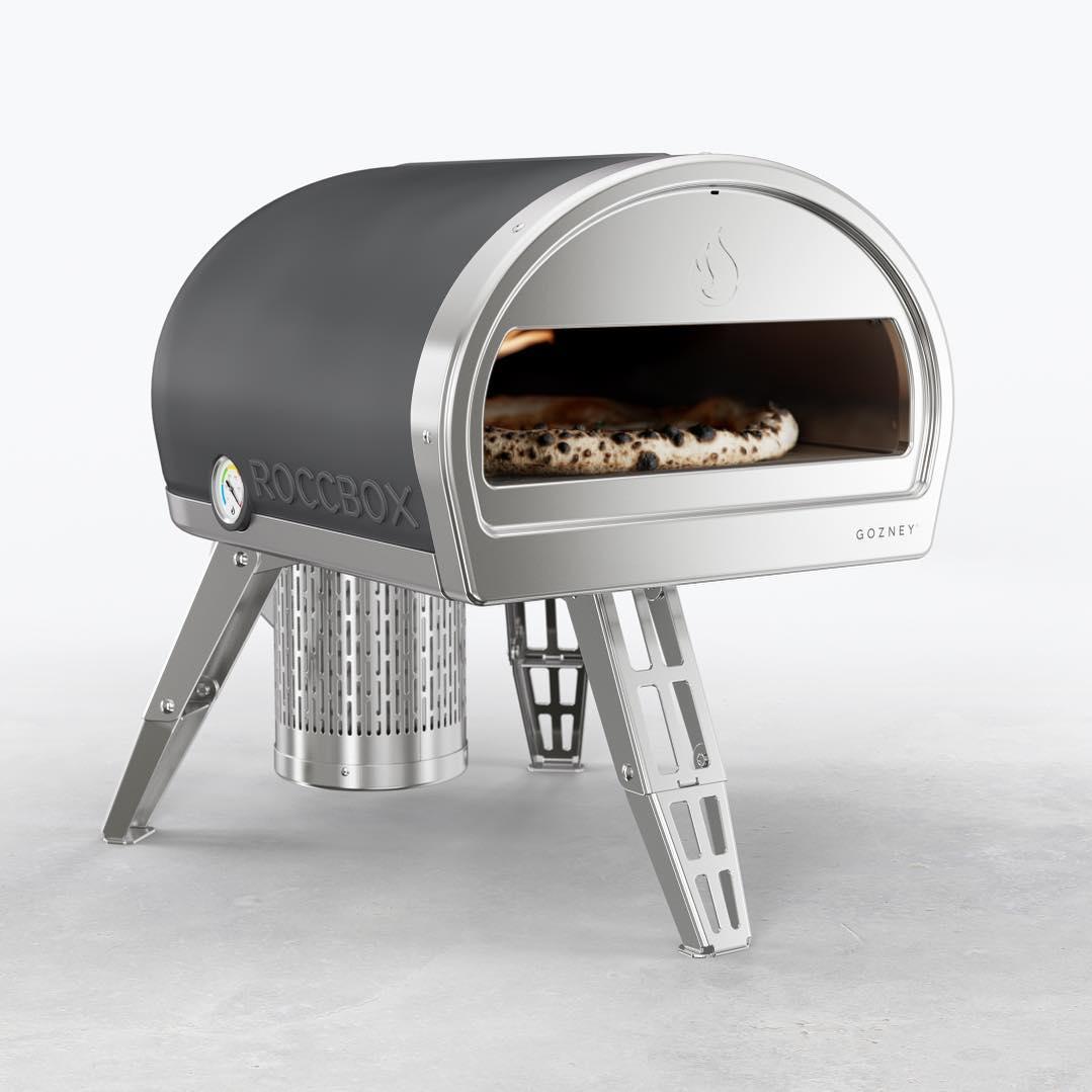 draagbare pizza steenoven