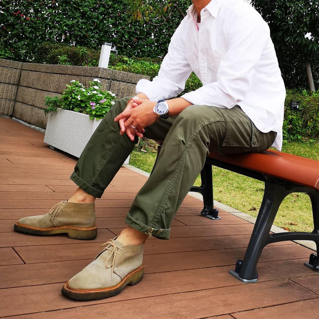 Schoenentrends 2019 desert boots mannen