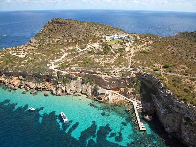 privé eiland