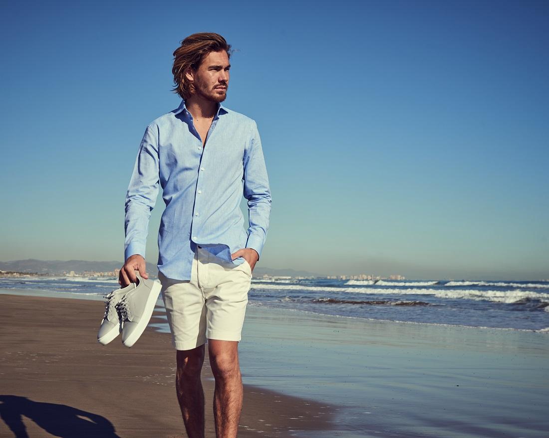 linnen overhemd mannen zomer 2019 5
