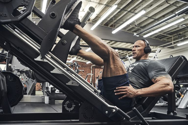 De explosieve leg day workout van The Rock MAN MAN