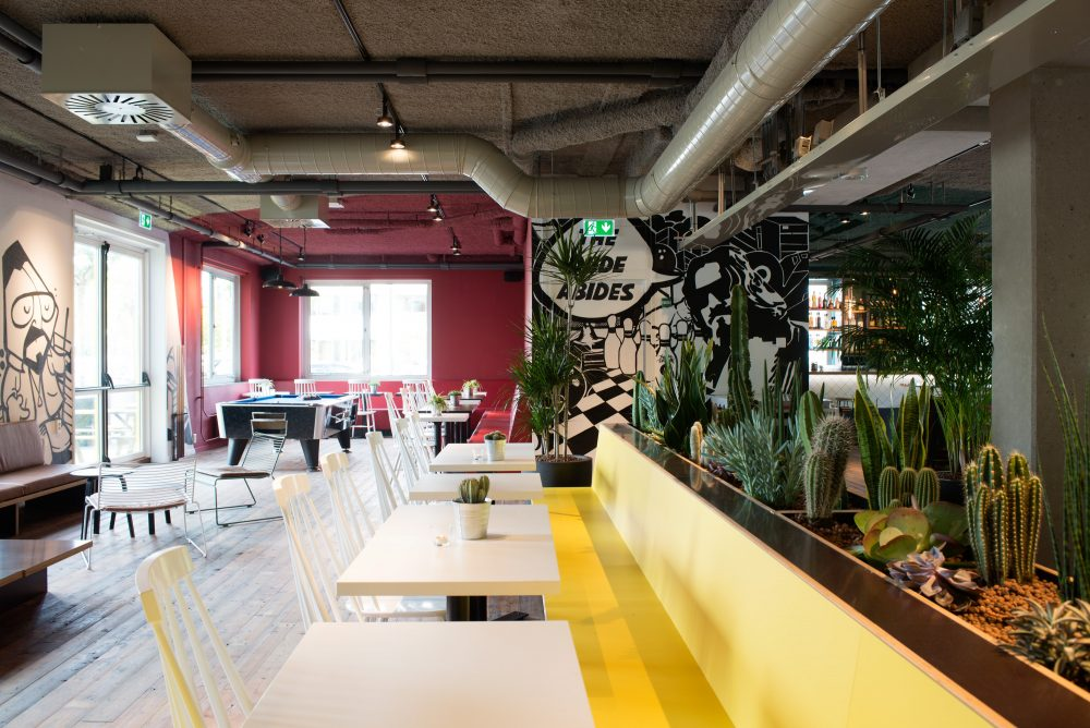 flexwerken plekken kantoor
