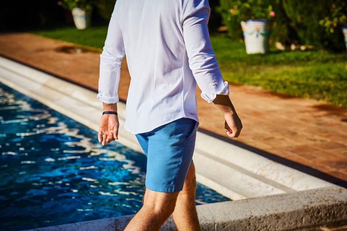 blauwe broek heren