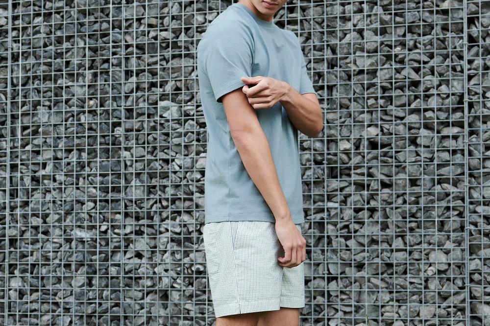 basic T-shirt katoen